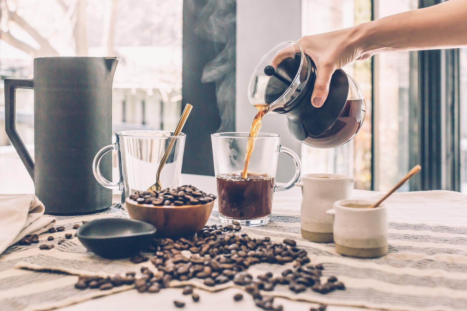 Les propriétés du café