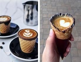 craquer pour le coffee in a cone café cornet chocolat santé environnement plaisir saveur arôme buenavita proxi pause